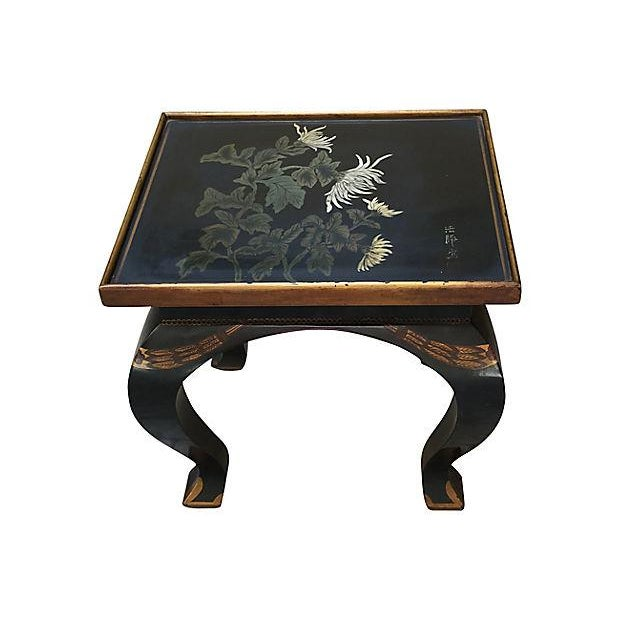 Lacquered Side Table - Image 2 of 8