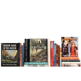 Vintage Railroad Books - Set of 21