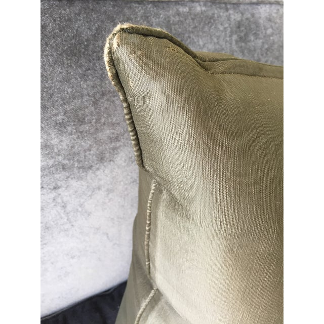 Silk Christian Liaigre Silk Pillow For Sale - Image 7 of 8