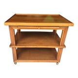 Image of Mid Century Modern Bar Cart For Sale