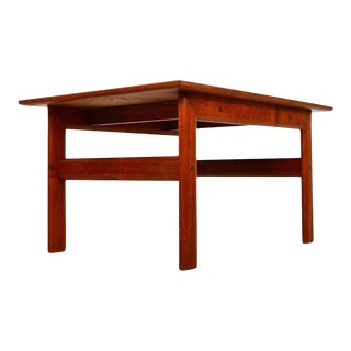 Scandiline Danish Modern Teak Side Table 1960s For Sale