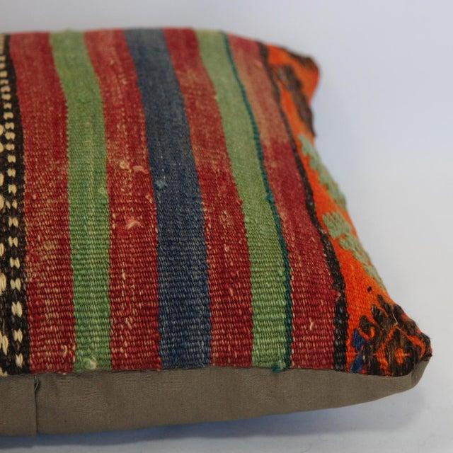 Turkish Handmade Kilim Pillow Cover - Image 7 of 7