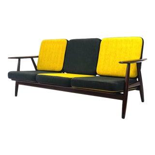 Mid Century Hans Wegner Danish Modern Sofa For Sale