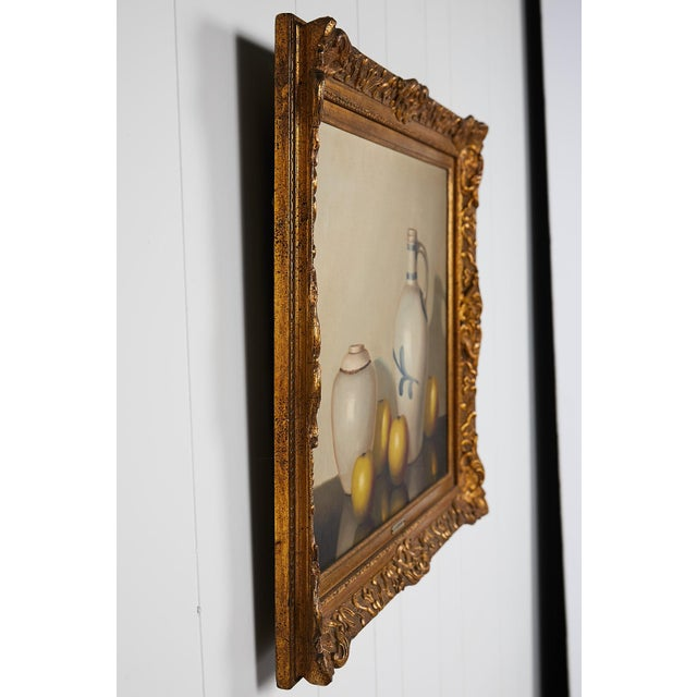 Pair of 19th Century Still Life Oil Paintings For Sale - Image 10 of 13