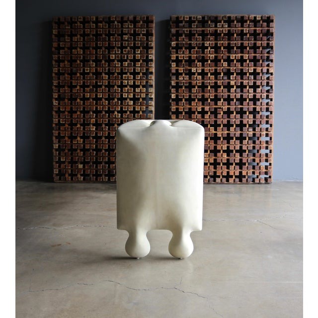 "Goatskin ""Puzzle"" Console by Scala Luxury For Sale In Los Angeles - Image 6 of 13"