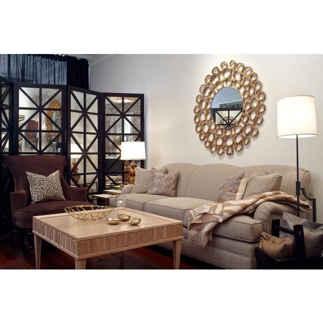 Oly Studio Antique Mirror Four-Panel Screen - Image 3 of 3