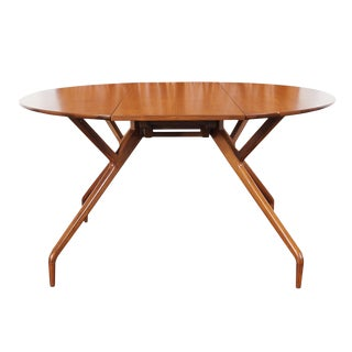 """Vintage """"Spider"""" Dining Table by Ed Frank for Glenn of California For Sale"""