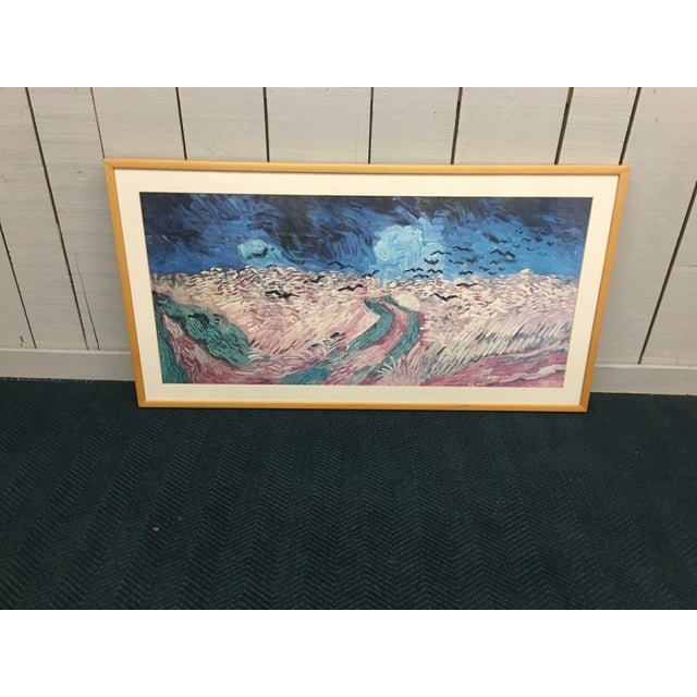 Abstract Oblong Abstract Framed Picture For Sale - Image 3 of 7