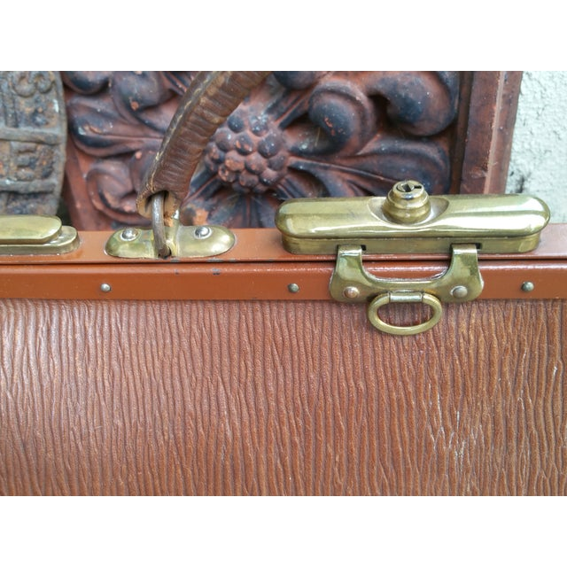 Victorian Leather Gladstone Bag - Image 6 of 7