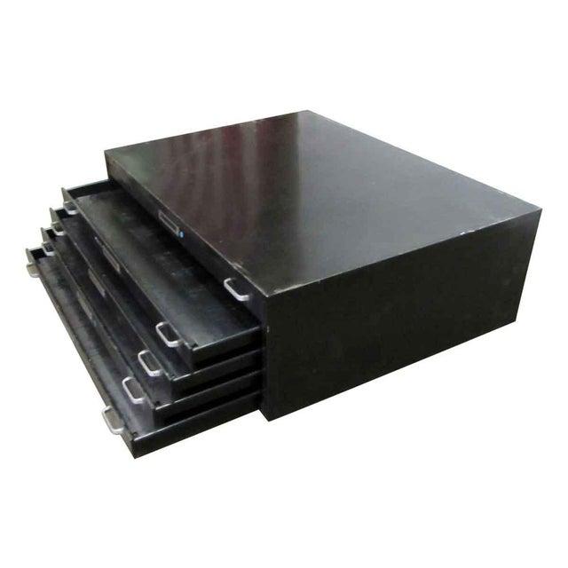 Black Metal Map Cabinet - Image 4 of 7