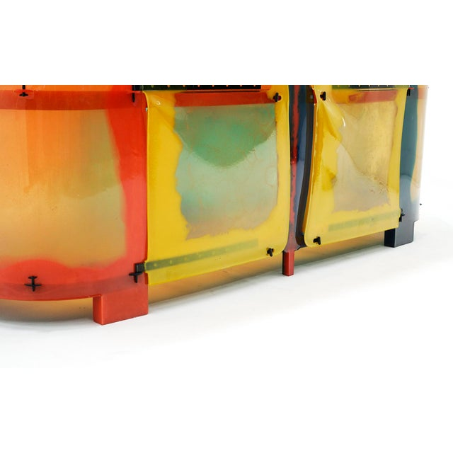 "Gaetano Pesce ""Nobody's Perfect"" Multi-Color Resin Sideboard For Sale - Image 10 of 13"
