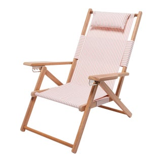 Tommy Outdoor Chair - Lauren's Pink Stripe For Sale