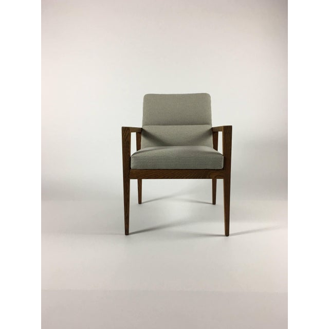 Jens Risom 1950s Mid-Century Modern Jens Risom Accent Chair With Arms For Sale - Image 4 of 8