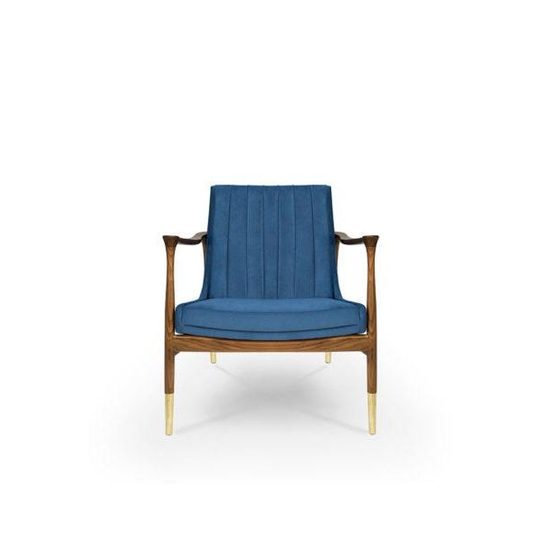 Hudson Armchair From Covet Paris For Sale - Image 6 of 6