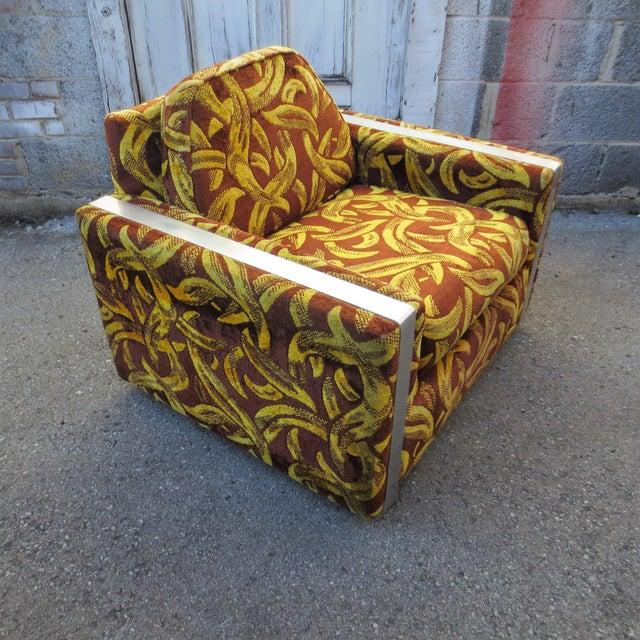 Andy Warhol Inspired Banana Lounge Chair - Image 3 of 7
