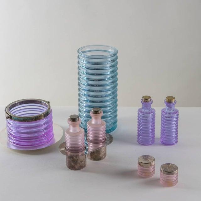 """""""Onda"""" Glass Set by Sergio Asti for Arnolfo di Cambio For Sale - Image 6 of 10"""