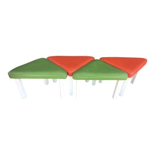 1980s Retro Stools - Set of 4 For Sale