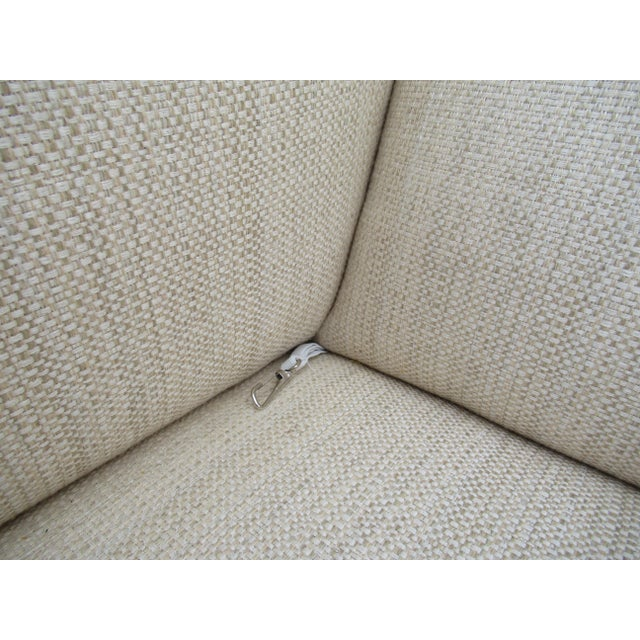Donghia Ogee Club Chair and Ottoman For Sale - Image 11 of 13