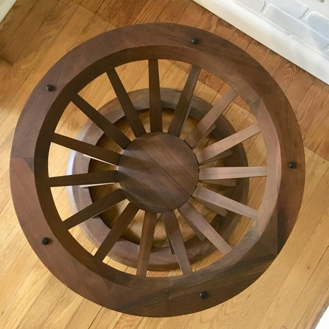 Brown Edward Wormley Style Sheaf of Wheat Coffee Table For Sale - Image 8 of 12