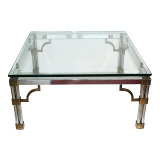 French 1970s Coffee Table For Sale