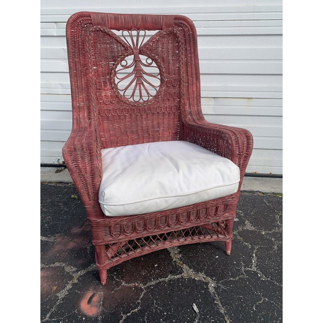 Polo Ralph Lauren Wicker Chair For Sale - Image 13 of 13
