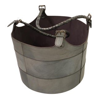 Contemporary Leather Bucket For Sale
