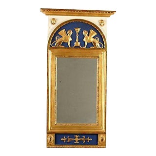 1800s Vintage Swedish Empire Mirror