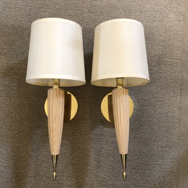 Transitional Boyd Lighting Piedmont Sconces - a Pair For Sale - Image 12 of 12