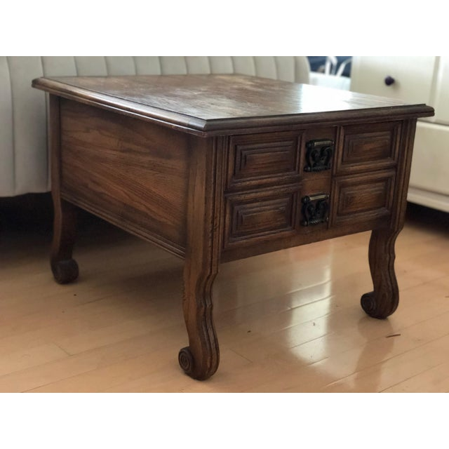 American of Martinsville American of Martinsville Side Table For Sale - Image 4 of 4