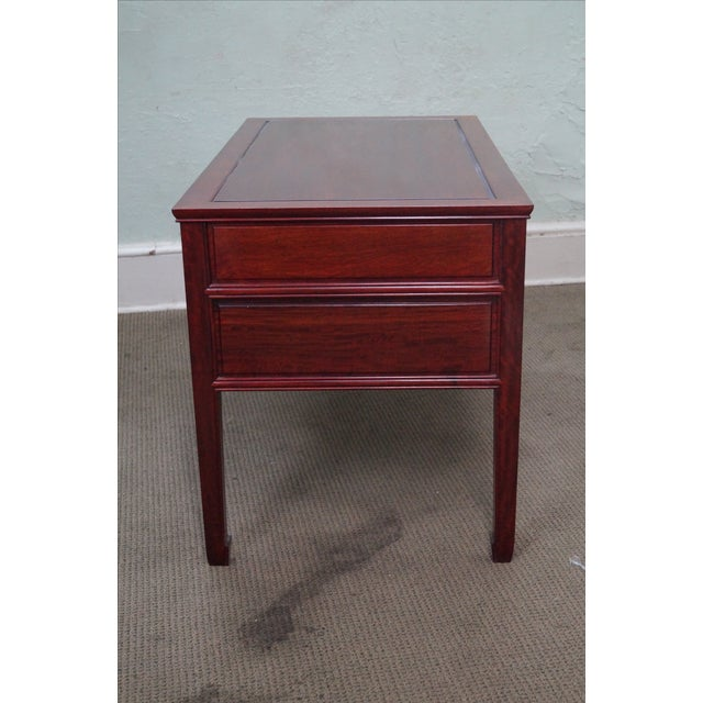 Quality Solid Rosewood Chinese Writing Desk For Sale - Image 9 of 10