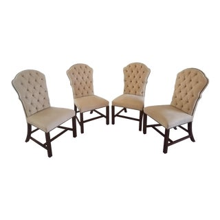 Hickory Chair Furniture Dining Chairs- Set of 4 For Sale
