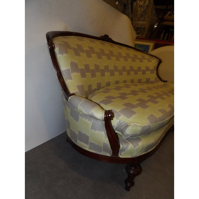 Early 20th Century Early 20th Century Antique Settee For Sale - Image 5 of 11