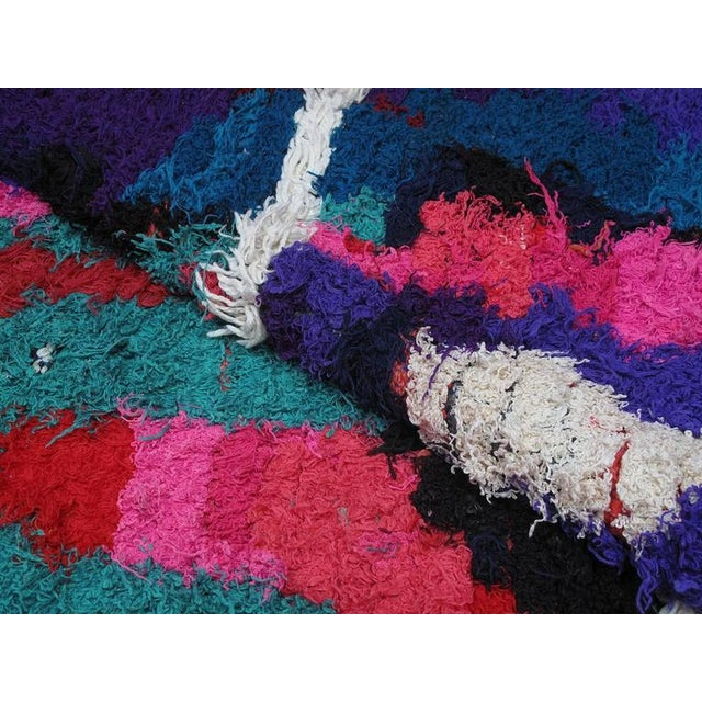 Textile Azilal Moroccan Berber Rug For Sale - Image 7 of 8