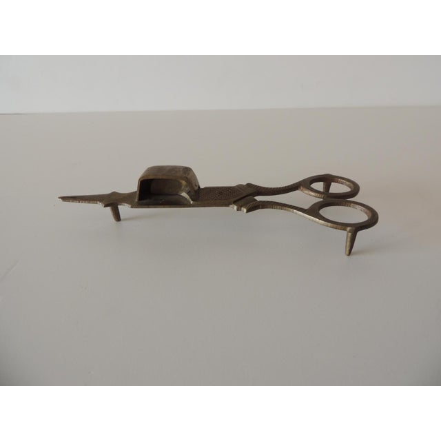 1980s Vintage Brass Candle Snuffer For Sale - Image 5 of 5