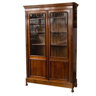 French 19th Century Mahogany Bookcase For Sale