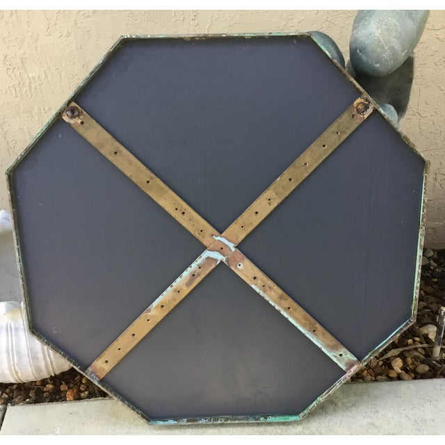 Architectural Bronze Hexagon Mirror - Image 10 of 10