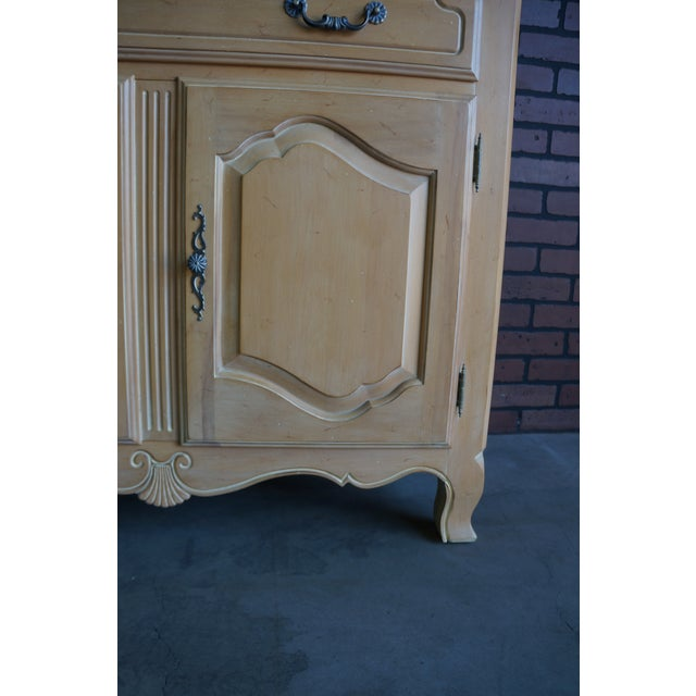 Country French Ethan Allen Server For Sale - Image 6 of 10