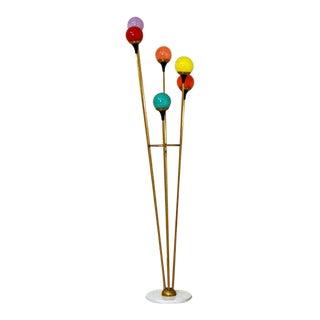 1960s Mid Century Italian Floor Lamp For Sale