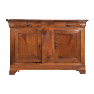 French 19th Century Louis Philippe Walnut Buffet For Sale