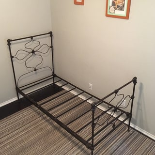 19th Century French Wrought Iron Bedframe Preview