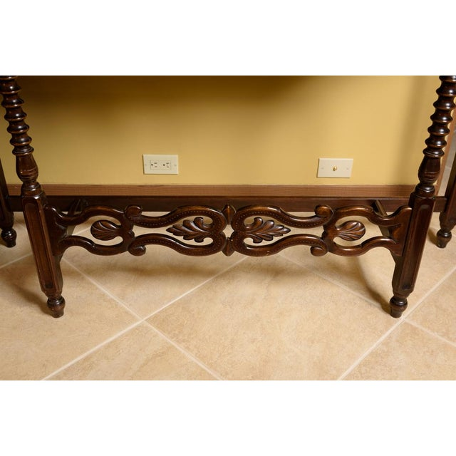 American Walnut Sofa Table - Image 3 of 8