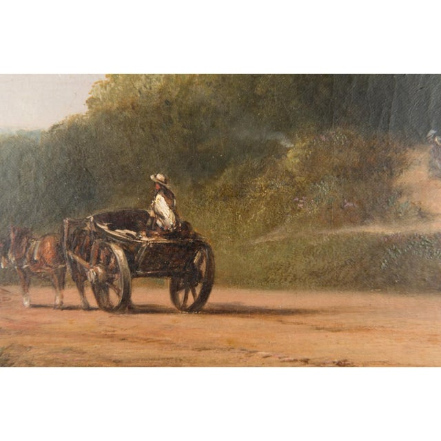 Mid 19th Century 19th-C. Sussex Landscape by E. J. Niemann For Sale - Image 5 of 10