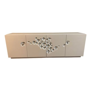 New Caracole Crowd Pleaser Sideboard + Credenza For Sale