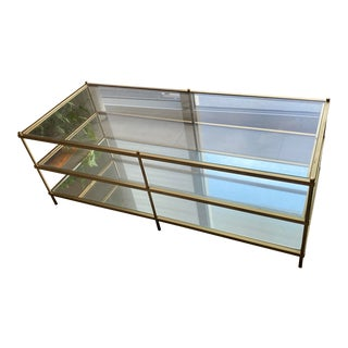 West Elm Mirror Coffee Table For Sale