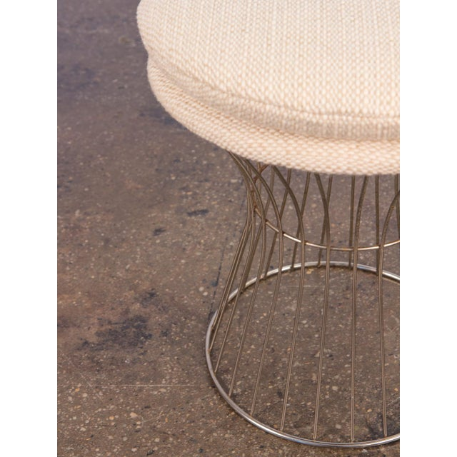 1960s Warren Platner Style Wire Stool For Sale - Image 5 of 7