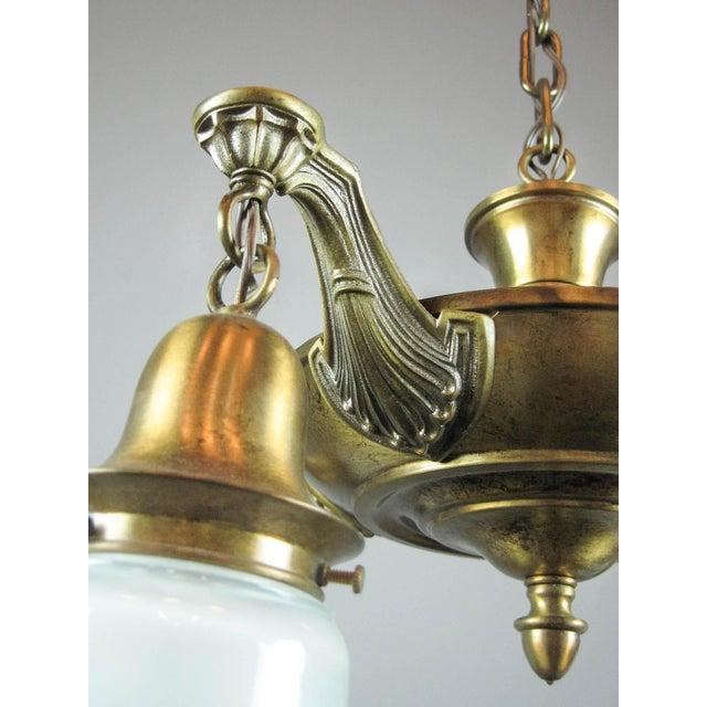 Antique Pan Light Fixture (4-Light) - Image 5 of 6