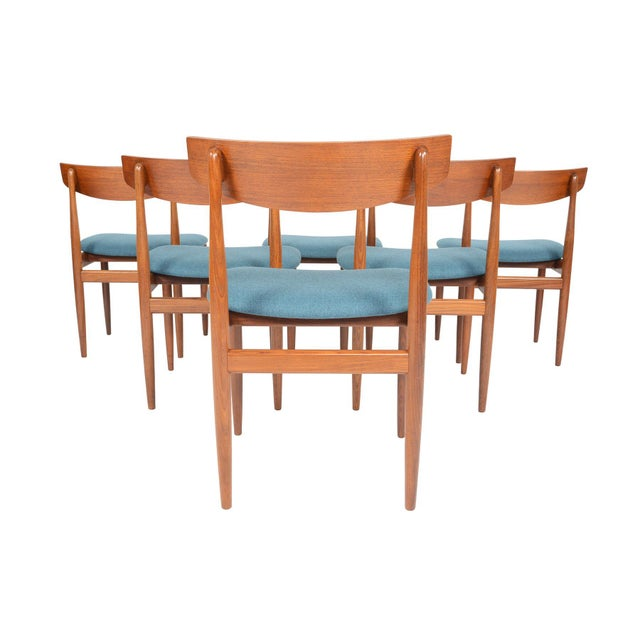 Ib Kofod- Larsen for G Plan Teak Dining Chairs - Set of 6 For Sale In San Francisco - Image 6 of 8