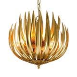 """Image of Florentine Antique Gold Leaf Artichoke Light (13.8"""") For Sale"""