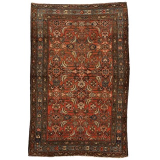 Antique Persian Hamadan Rug For Sale