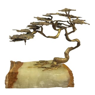 Asian Style Tree Sculpture For Sale